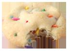 Confetti cookie icon